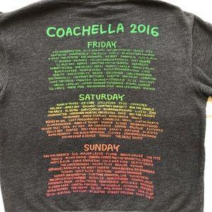 Coachella Tops - 2016 Coachella zip up hoodie